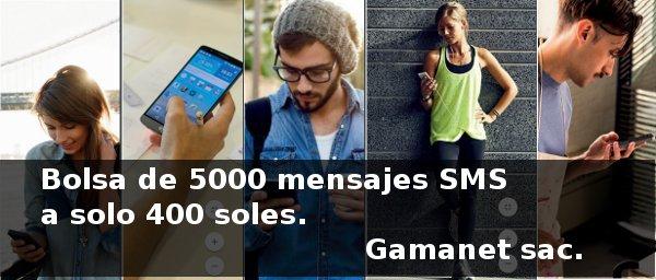 Bolsa de mensajes SMS